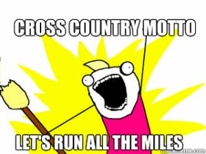 run all the miles