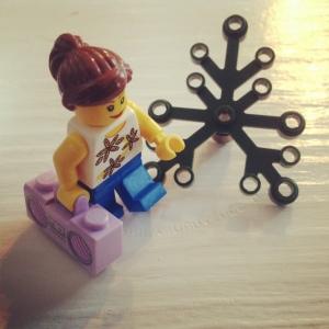 I am a Lego runner.