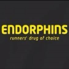 "If you've ever said, ""I signed up for WHAT?!"" then you know what endorphins are and what they can do. Dangerous."