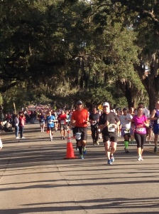 Mile 8, going strong!