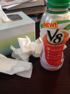 Vitamins and Kleenex. My two favorite things.