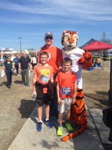 My boys and The Tiger