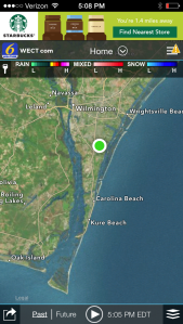 I swim at Wrightsville Beach, I take my kids to Kure Beach, and good ole' Mr. Shark was chewing on people at Oak Island, barely around the corner.