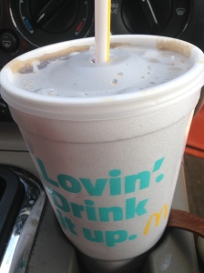 Oh yes, I'm really lovin' it. Liquid crack.