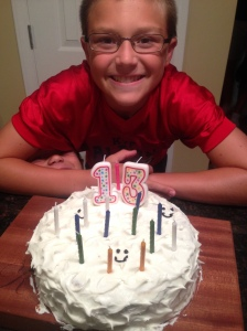 Happy 13th Birthday, Tyler!