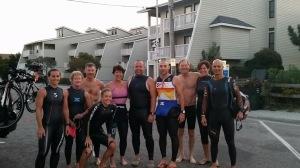 Pre-ocean sunrise swim.